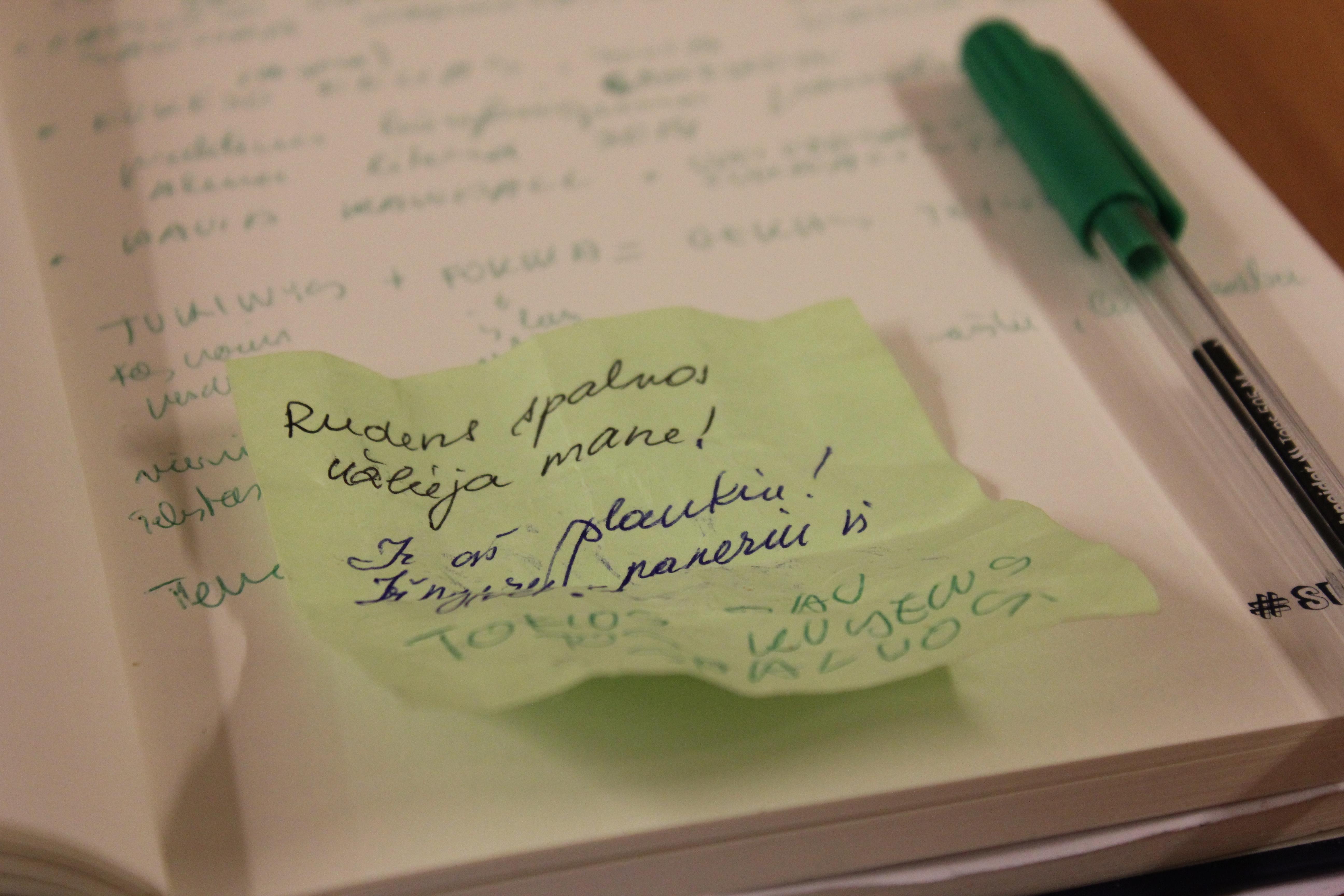 Tekstų rašymas kaip darbas namuose - Darbas namuose